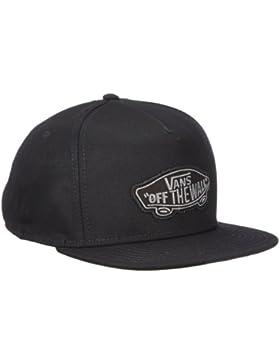 Vans CLASSIC PATCH SNAPBACK - Gorra de béisbol para hombre, color negro, talla