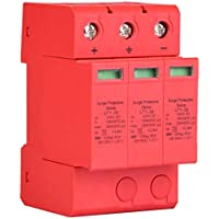 Überspannungsschutzgerät, 3P 20 / 40KA 3.0KV DC Überspannungsschutz-Ableiter Hochpräziser Blitzschutz(3P20KA)