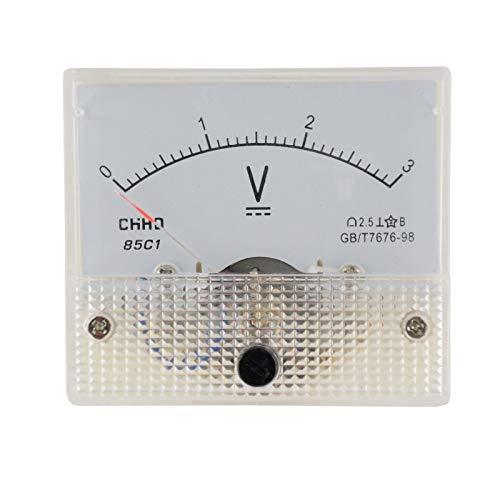 WITTKOWRAE Einbaumessinstrument, analog, 64x56mm, Voltmeter 150V/AC -