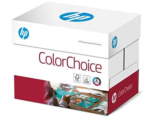 HP Farblaserpapier, Druckerpapier Colorchoice CHP 762 - 120 g, DIN-A3, 1500 Blatt (6x250), weiß - Inkjet-laser-drucker Hp