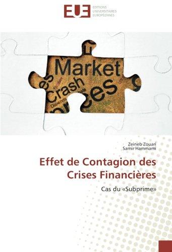 Effet de Contagion des Crises Financières: Cas du «Subprime»