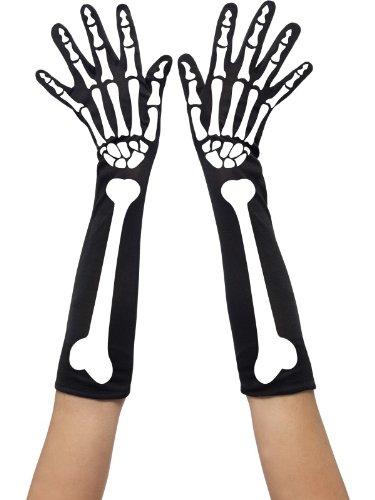 Smiffys Guantes de Esqueleto