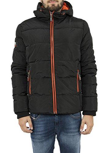 Superdry Sports Puffer, Manteau d'hiver pour Hommes