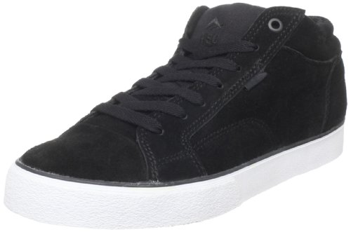 Emerica The Hsu 2, Baskets mode homme Noir/blanc/gomme