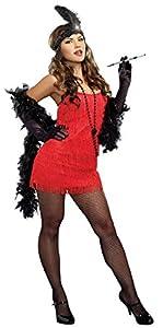 DreamGirl 8912 Vestido con Solapa, L