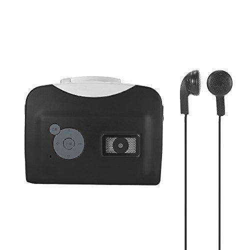 Docooler Tragbare Kassettenspieler Mp3 Player mit Kopfhörer - konvertieren Walkman Tape Kassetten zu MP3 Format- Auf USB Flash Disk Speichern