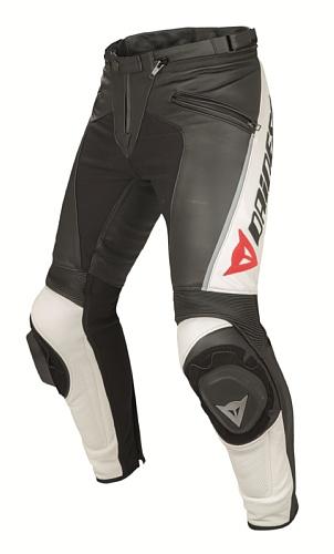 *Dainese Delta Pro C2 Leder Motorradhose, Schwarz, Größe 48*