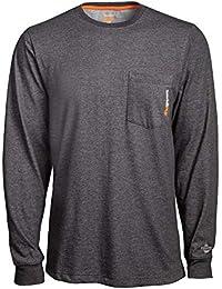 Timberland Herren Base Plate Blended Long-Sleeve (Big/Tall) Arbeits-T-Shirt