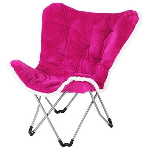 canapé paresseux chaise pliante en tissu chaise papillon