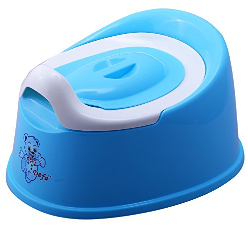 NOVICZ Baby Toddler Potty Seat Kids Toilet Training Potty Chair With Removable Bowl - Secure Non-Slip Surface-Blue