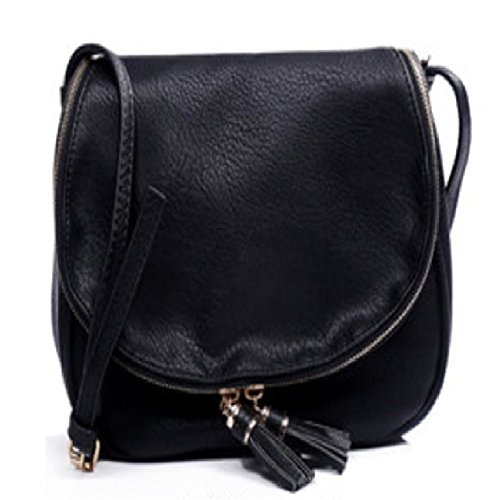 Purposefull Crossbody borsetta Black