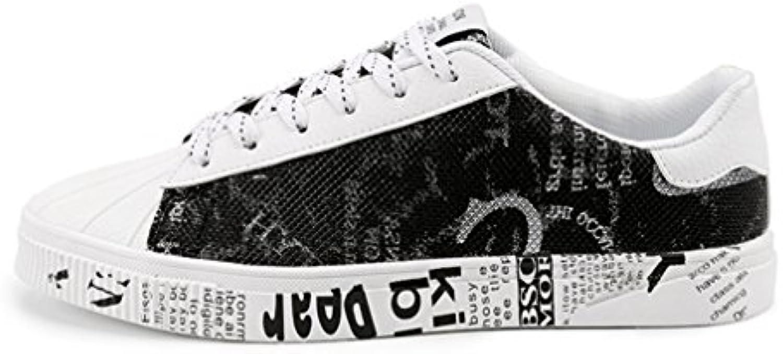 Herren Sneaker Canvas Schnürhalbschuhe Gummisohle Bequeme Flexibel Leichte Nuedrig Schuhe