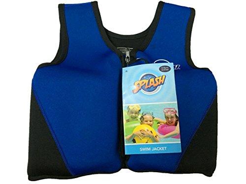 Titop Schwimmhilfe für Kind für Neue Schwimmunterricht für Baby Tiefblau Klein für Kinder Zwischen 1-3 Jahren