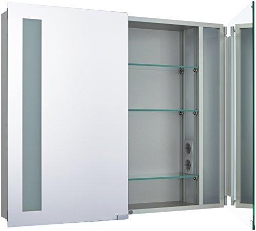 Spiegelschrank Emco – Aufputzversion 80 cm - 2
