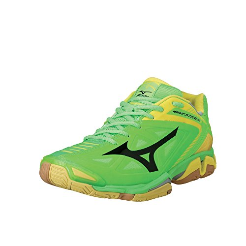 Mizuno - Wave Stealth 3, Scarpe da basket Donna - Green/Yellow