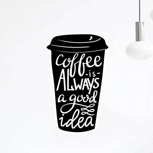tasse-de-cafe-bonne-idee-de-cuisine-sticker-mural-en-vinyle-art-decor-pub-cafe