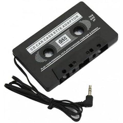 Car Audio Tape Cassette Adapter iPhone iPod Cd Radio Mp3