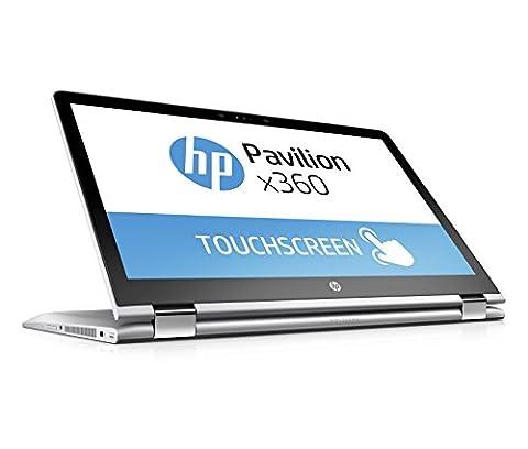 HP Pavilion x360 (15-br009ng) 39,6 cm (15,6 Zoll / FHD-IPS) Notebook (Intel Core i5-7200U, 256 GB SSD, 8 GB RAM, Intel HD-Grafikkarte 620, Windows 10 Home 64)