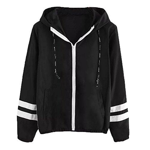 Giacca con cappuccio, longra donna felpe con la zip tumblr ragazza elegante cappotto sportivo giacca patchwork cappotto corto giacche a vento colore a contrasto cappotto classico