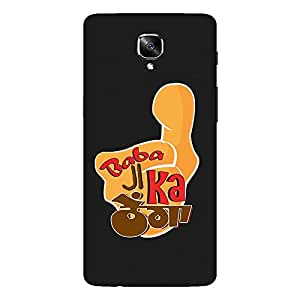 Bhishoom Designer Printed Back Case Cover for OnePlus 3, OnePlus Three, One Plus 3 (Baba Ji Ka Thullu)