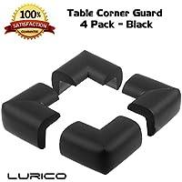 Lurico paraspigoli 4pezzi Set–Cushiony Table Furniture Childproofing Corner protezioni cuscino sicurezza del bambino extra dense non tossico Edge & Corner Guard Bumpers