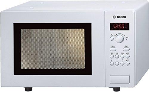 Bosch HMT75M421 Four micro-ondes 17 l 800 W Blanc (Import Allemagne) (2 Jahre Herstellergarantie.)