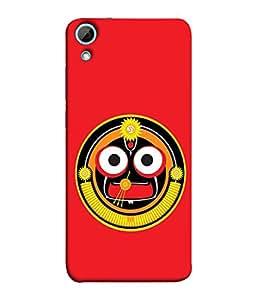 FUSON Designer Back Case Cover for HTC Desire 828 Dual Sim (Dhanalakshmi Vaibhavlakshmi Shubhdeepavali Happy Diwali Laxmi Laksmi Kamala)