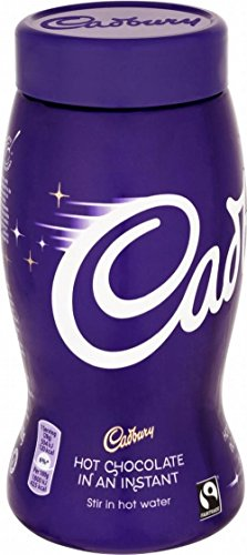 Cadbury Sofort Hot Chocolate Fairtrade (400 g) - Packung mit 6