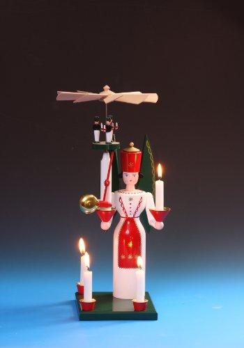 Gebraucht, Glockenengel-Engel mit Pyramide und Glocke gebraucht kaufen  Wird an jeden Ort in Deutschland