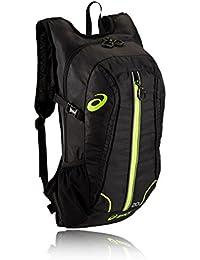 Asics Running Backpack - Negro / verde de neón