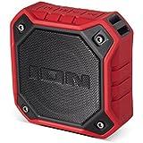 ION Audio Dunk Red   Enceinte Bluetooth Portable et Waterproof avec Batteries Rechargeable