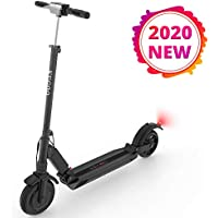 ACGAM KUGOO S1 Foldable Electric Scooter 350W Motor 30km/h Max with LCD Display Screen 3 Speed Modes, Adjustable Height, Folding Handle, 8 Inche Solid Rear Anti-Skid Tire Shock Mitigation System