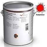 BEKATEQ BE-510 Dachbeschichtung seidenmatt Dachfarbe für diverse Arten von Dächern (Rot / 10L)