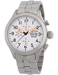 Nautec No Limit Herren-Armbanduhr XL Tempest Analog Automatik Edelstahl TM AT/STSTSTWH-OR