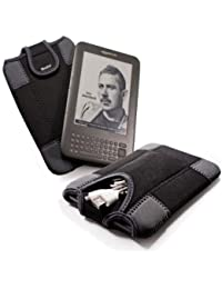 E-volve Duo-Pad Housse en neoprène pour tous les 6 pouces e-book liseuseSony Reader PRS-650 / PRS-600 / Iriver Story / Be-book / Nook / Elonex
