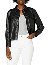 Only Onlmarina Faux Leather Jacket CC Pnt Giacca Donna