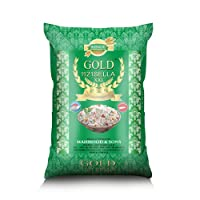 GOLD Sella Basmati Rice 1121 Rice XXL, 10 kg (Pack of 1)