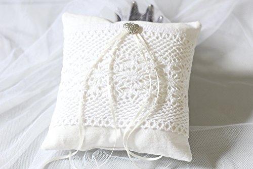 Ringkissen 'Lace' Unikat handmade