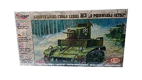 Mirage Hobby 72670 - M3 US Light Tank First Hundred, Panzer (72 British Light)