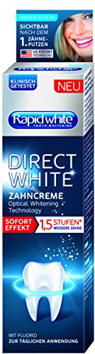 Rapid White Direct Zahncreme, 2er Pack (2 x 75 ml)