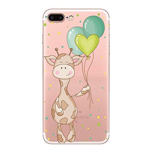 IPHONE 7 Hülle Ananas Elefanten Giraffe Weich Silikon TPU Schutzhülle Ultradünnen Case Schutz Hülle für iPhone 7 YM73