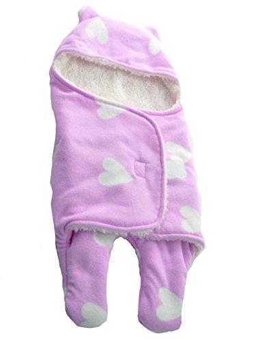 Mainaisi coperta universale per ovetto, passeggino o lettino, unisex bambino disegno pigiama tuta da ragazzo cotone ragazza pigiami pigiama per primavera & inverno colore a scelta,l/78x86cm