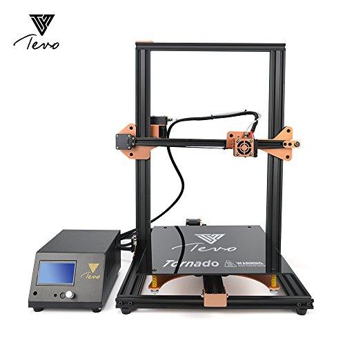 TEVO Tornado DIY Kit de impresora 3D 300 * 300 * 400 mm Tamaño de impresión grande con Titan Extruder 1.75mm 0.4mm Soporte de boquilla de impresión fuera de línea
