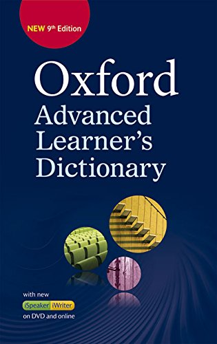 Oxford Advanced Learner's Dictionary: Oxf Advanced Learner'S Dict 9E Hb+Dvd-R+OL Ac (División Académica)