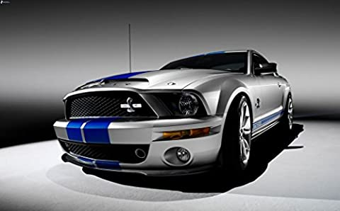 Ford Mustang Customized 39x24 inch Silk Print Poster Affiche de la Soie/WallPaper Great Gift