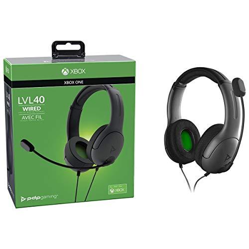 Casque LVL40 Stéréo pour Microsoft Xbox One - noir