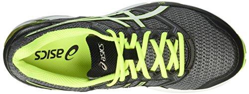 Asics Gel-Phoenix 8, Scarpe da Corsa Uomo Gris (Carbon/Silver/Safety Yellow)