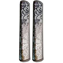 Aj Creations Multi-Purpose Handle Cover For Car/ Refrigerator/Oven Kitchen Decor, House Decor (1 Pair)