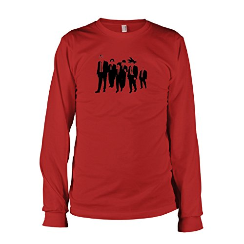 Dogs Reservoir Kostüm - TEXLAB - DBZ: Dogs - Langarm T-Shirt, Herren, Größe XL, rot