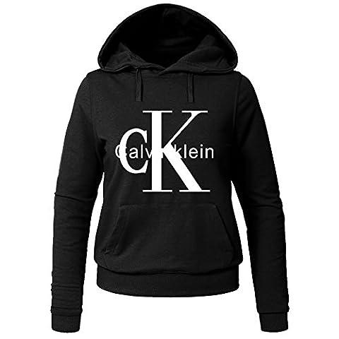 Calvin Klein CK Printed For Ladies Womens Hoodies Sweatshirts Pullover Outlet